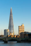 LONDON/UK - FEBRUARY 18 : The Shard in London on February 18, 20 Stock Photography