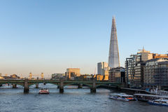 LONDON/UK - FEBRUARY 18 : The Shard in London on February 18, 20 Royalty Free Stock Photo