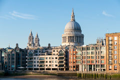 LONDON/UK - FEBRUARY 18 : St Paul's Cathedral in London on Febru Royalty Free Stock Images