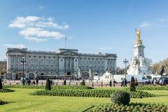 LONDON/UK - FEBRUARY 18 : Victoria Memorial outside Buckingham P Stock Image