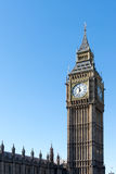 LONDON/UK - FEBRUARY 18 : View of Big Ben in London on February Royalty Free Stock Image