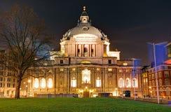 LONDON UK - JANUARI 24: Metodist centrala Hall, Westminster, London Fotografering för Bildbyråer