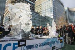 LONDON, UK - JANUARY 13: The Swedish team's freestyle modality s Royalty Free Stock Photos