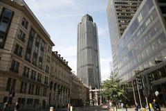 Den London skyskrapan, står hög 42 Royaltyfri Foto