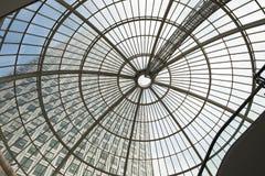 LONDON, UK - JULY 3, 2014: Modern glass architecture of Canary W Stock Photo