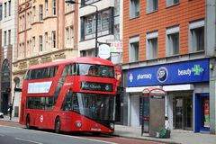 London double decker Stock Photos