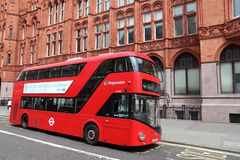 London city bus Royalty Free Stock Images
