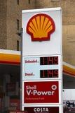 Petrol prices royalty free stock photo