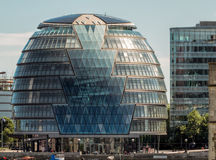 LONDON, UK - JUN 14 : City Hall in London on June 14, 2013. Unid Royalty Free Stock Photography