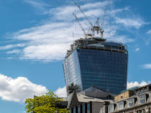 LONDON, UK - JUN 14 : A new building under construction in Londo Royalty Free Stock Photos