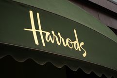 London, UK - june 2011: Harrods store in london Stock Photography