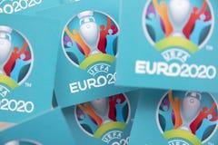 Free LONDON, UK - June 2021: Logo For The 2020 UEFA European Championship Stock Photos - 220930703