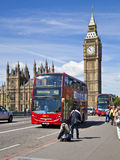 LONDON, UK - JUNE 24, 2014 - Big Ben and Houses of Parliament Stock Image