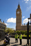 LONDON, UK - JUNE 24, 2014 - Big Ben and Houses of Parliament Royalty Free Stock Images