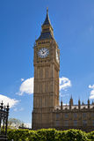 LONDON, UK - JUNE 24, 2014 - Big Ben and Houses of Parliament Stock Images