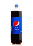 LONDON, UK - JUNE 9, 2017: Bottle of Pepsi Cola soft drink on white.American multinational food and beverage company Stock Image