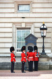 LONDON, UK - JUNE 12, 2014: British Royal guards Royalty Free Stock Photos