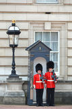LONDON, UK - JUNE 12, 2014: British Royal guards Royalty Free Stock Image