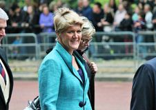 Claire Balding Trooping of the color 2015 Royalty Free Stock Photos