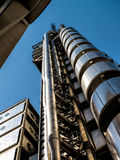 LONDON, UK - JUNE 14 : Lloyds of London building on a sunny day Stock Photos