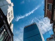 LONDON, UK - JUNE 14 : New office building in the City of London Stock Images