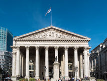 LONDON, UK - JUNE 14 : Royal Exchange in the City of London on J Royalty Free Stock Photos
