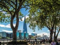 LONDON, UK - JUNE 14 : The Shard building in London on June 14, Stock Image