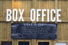 LONDON, UK - JUNE 21 2014: The Southbank Centre, Box Office Stock Photography