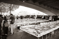 LONDON, UK - JUNE 21 2014: The Southbank Centre's Book Market Royalty Free Stock Images
