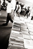 LONDON, UK - JUNE 21 2014: The Southbank Centre's Book Market Stock Image