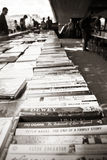 LONDON, UK - JUNE 21 2014: The Southbank Centre's Book Market Royalty Free Stock Photos