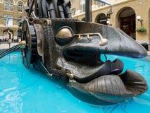 LONDON/UK - JUNE 15 : View of HMS The Navigators by Sculptor Dav Royalty Free Stock Image