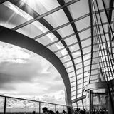 LONDON/UK - JUNE 15 : View of the Sky Garden in London on June 1. 5, 2016. Unidentified people Stock Photography