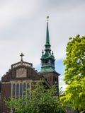 LONDON/UK - JUNI 15: Allt välsignar vid tornkyrkan i London Arkivbilder