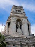 LONDON/UK - 15. JUNI: Ehemaliger Hafen von London-Berechtigung 1 errichtend Lizenzfreie Stockfotografie