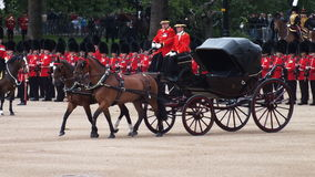 Kunglig vagn Royaltyfri Foto