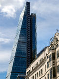 LONDON/UK - 15 JUNI: Leadenhall die Affectionately Bekende a bouwen Royalty-vrije Stock Foto