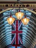 LONDON UK - JUNI 14: Leadenhall marknad i London på Juni 14, 2 Royaltyfri Bild