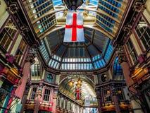 LONDON UK - JUNI 14: Leadenhall marknad i London på Juni 14, 2 Royaltyfria Foton