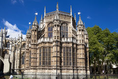 LONDON UK - JUNI 14, 2014: Westminster abbotskloster Arkivfoto
