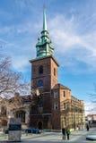 LONDON/UK - 7 MAART: Allen zegent door de Torenkerk in Londen royalty-vrije stock foto's