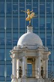 LONDON/UK - 21 MAART: Replicastandbeeld van Anna Pavlova op de Kop royalty-vrije stock afbeelding