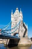 LONDON/UK - 7 MAART: Torenbrug in Londen op 7 Maart, 2015 U Stock Foto's