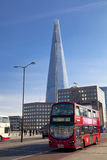 LONDON, UK - MARCH 29, 2014  Shard of glass Royalty Free Stock Photos