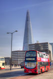 LONDON, UK - MARCH 29, 2014 Shard of glass, opened to the public on February 2013 309 m, the tallest building in Europe Royalty Free Stock Image