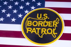 US Border Patrol Royalty Free Stock Image