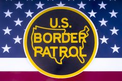 US Border Patrol Stock Photo