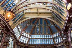 LONDON/UK - MARCH 7 : View of Leadenhall Market in London on Mar. Ch 7, 2015 Royalty Free Stock Images