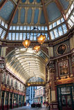 LONDON/UK - MARCH 7 : View of Leadenhall Market in London on Mar. Ch 7, 2015 Royalty Free Stock Photos