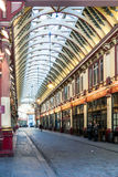 LONDON/UK - MARCH 7 : View of Leadenhall Market in London on Mar Royalty Free Stock Photography